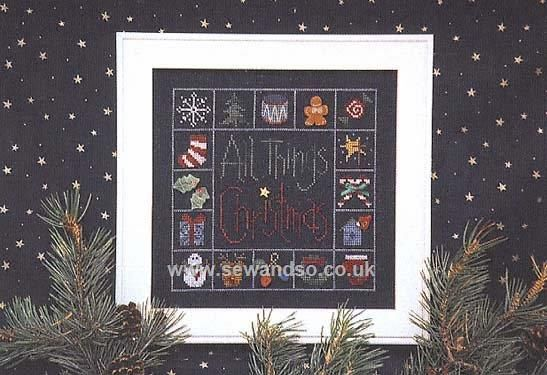 Buy All Things Christmas Chartpack Online at www.sewandso.co.uk