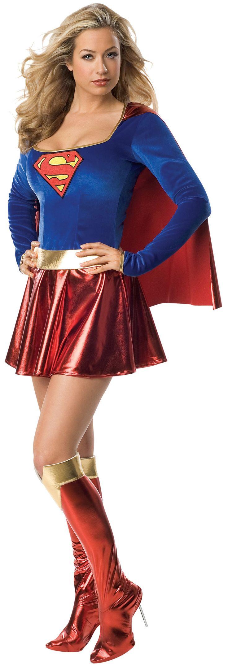 Déguisement luxe Supergirl™ femme sexy : Deguise-toi, achat de Déguisements adultes
