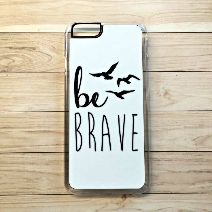 "Handmade ""Divergent"" Inspired ""Be Brave"" Case"