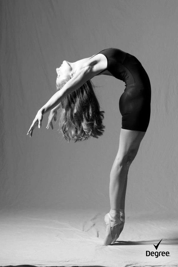 #ballerina The only person I bend over backwards for is me. #WhatMovesYou cc:Ballet West First Soloist, Allison deBona photo: Alexis Ziemski