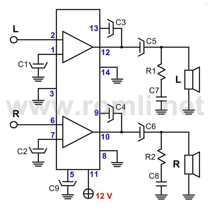 Mini Amplificador de 15v Skema My Colections t Circuit