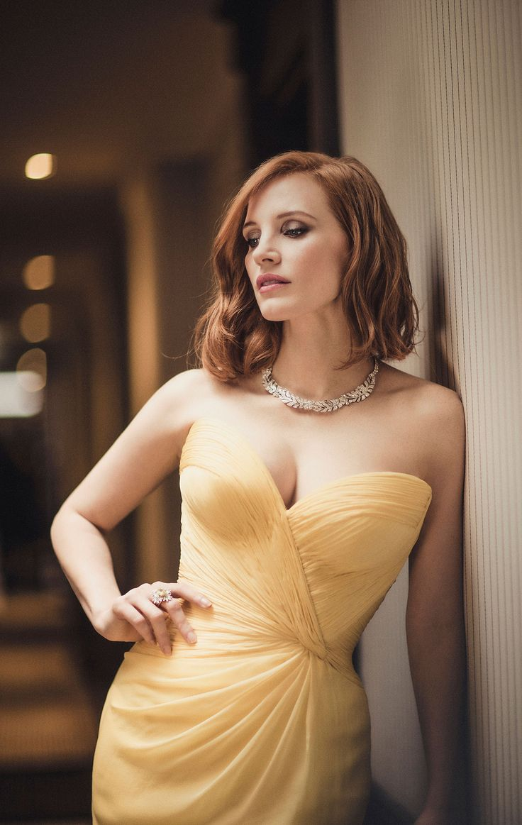 Jessica Chastain-I think she's an awesome actress as well. She's a chameleon.