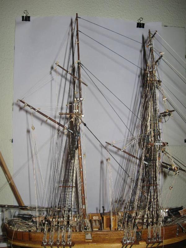 Bergantín-Goleta Le Hussard