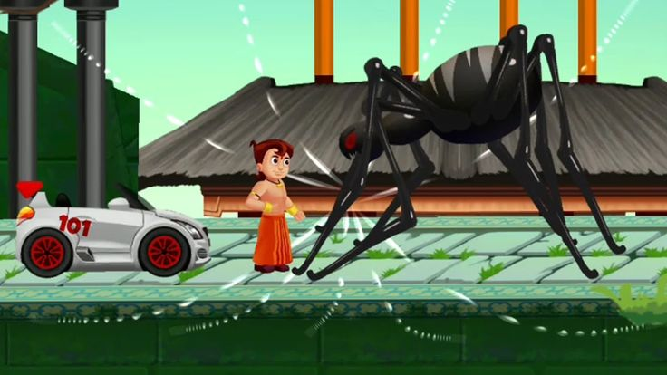 Chhota Bheem Games    Speed Racing Hindi Games for Kids   Android Gamepl...