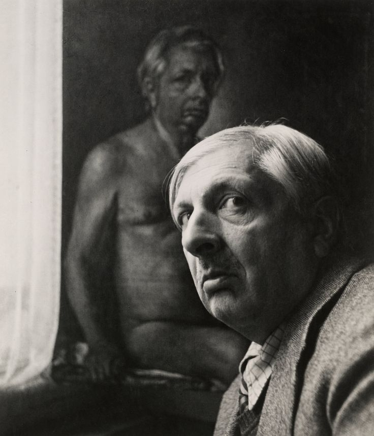 Giorgio De Chirico (7 of 7) , Rome, 1944 Gelatin silver print © The Irving Penn Foundation