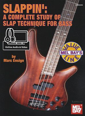#Slappin a complete #study for electric bass guitar tab #sheet music book/dlc,  View more on the LINK: 	http://www.zeppy.io/product/gb/2/400986011422/