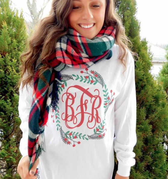 May your days be Merry and Monogrammed!