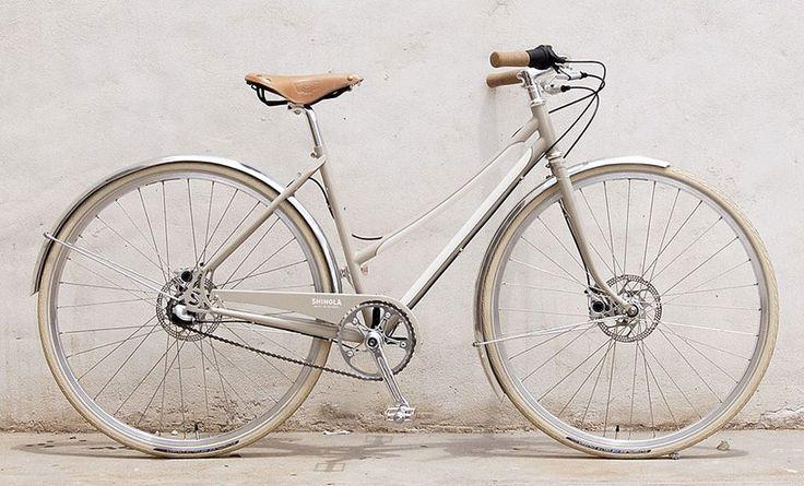 The very lovely urban bike, BIXBY, by Shinola. This tempts me. via design boom