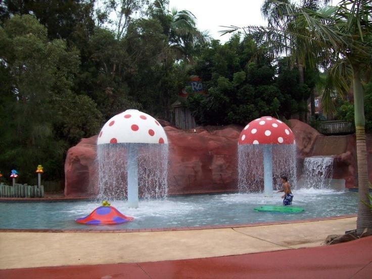 Jamberoo Action Park - Mushroom Pool