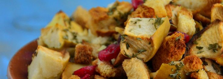 Holiday Apple Cranberry Stuffing