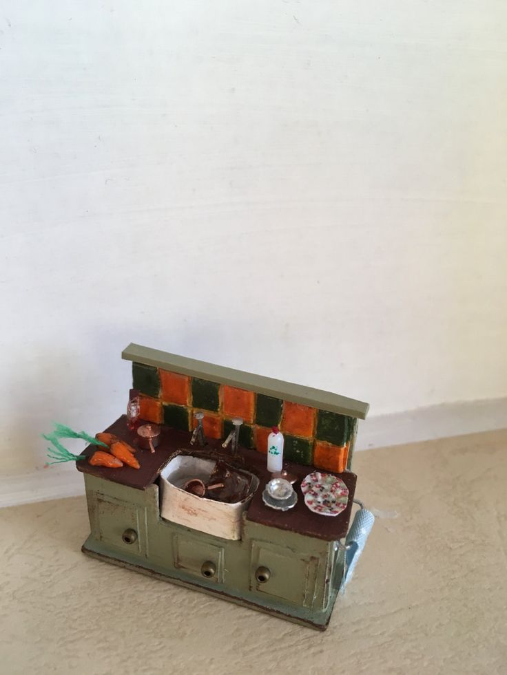 1:48 Kitchen Sink Unit by Simplysweetnsmall on Etsy