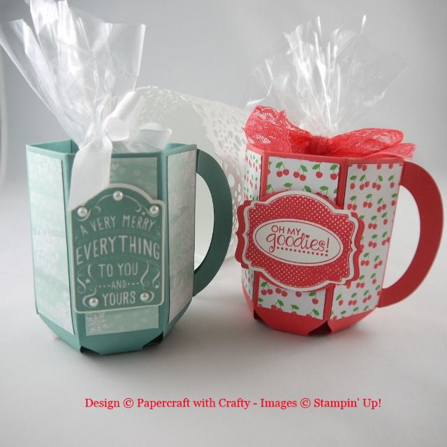 Treat Mugs made with the Envelope Punch Board http://www.papercraftwithcrafty.co.uk/2015/07/coffee-anyone.html