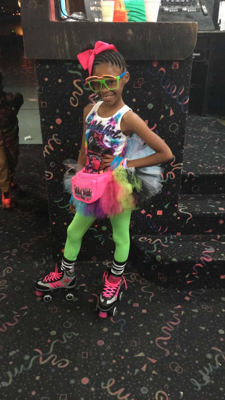 80s Theme Outfit For Girl | 80u0026#39;s Roller Skate Theme Outfit | Pinterest | 80s Theme Outfit 80s ...