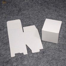100 шт./лот 7x7x8 см милый маленький красивая коробка Ювелирных Изделий Коробки крафт-бумага коробки для упаковки Косметики и клапан трубки пакет(China (Mainland))