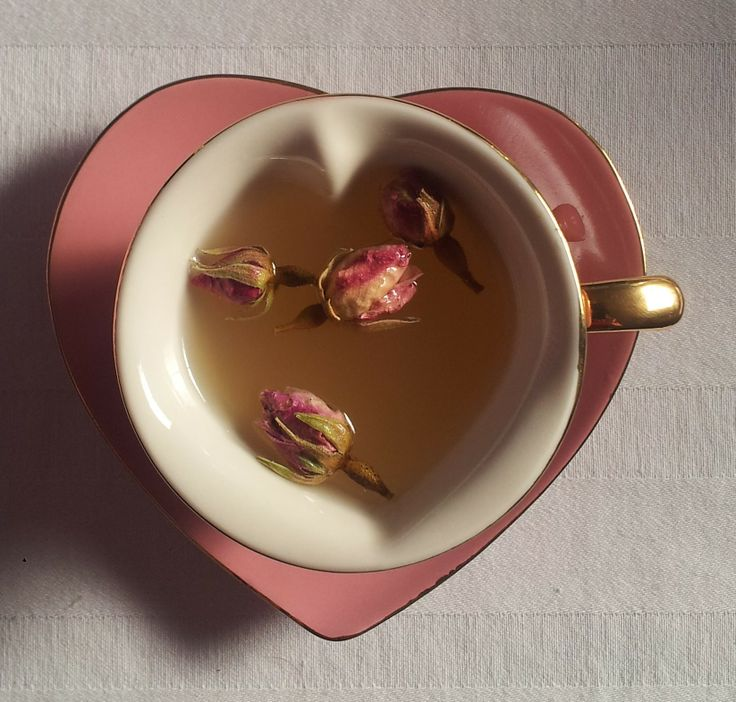 My New Heart Shaped Tea Cups Ginger And Rose Tea Tea