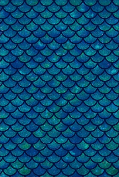 Mermaid scales iridescent sparkle  Art Print
