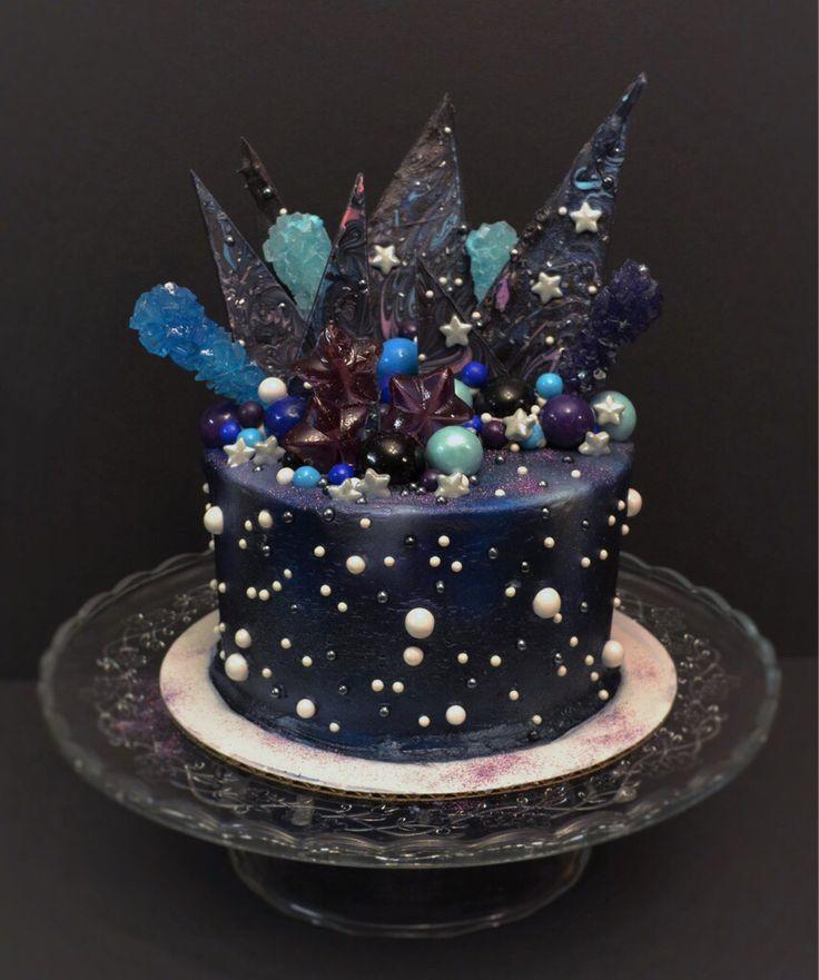 Galaxy cake                                                                                                                                                                                 More