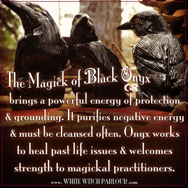 black onyx, raven, crow, occult, altar, spiritual, metaphysical, spells, circle casting, book of shadows, past life healing, wicca, witch, protection, aura, energy, grounding, crystals, gemstones, meaning, correspondence, www.whitewitchparlour.com