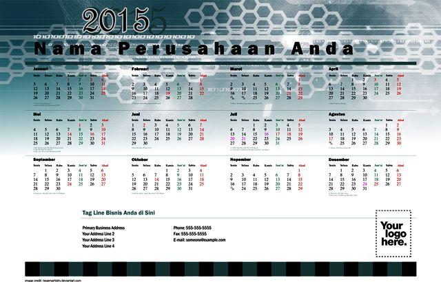 Kalender 2015 Desain 15 Cirque | 6 Desain Kalender 2015 Gratis Download Lengkap Hari Libur Nasional Cuti Bersama