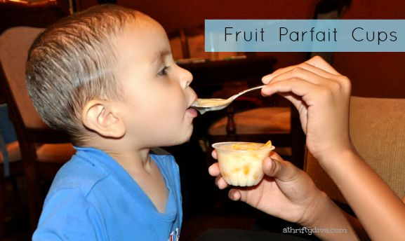 What are you snacking on? Dole Fruit Parfait Cups review.