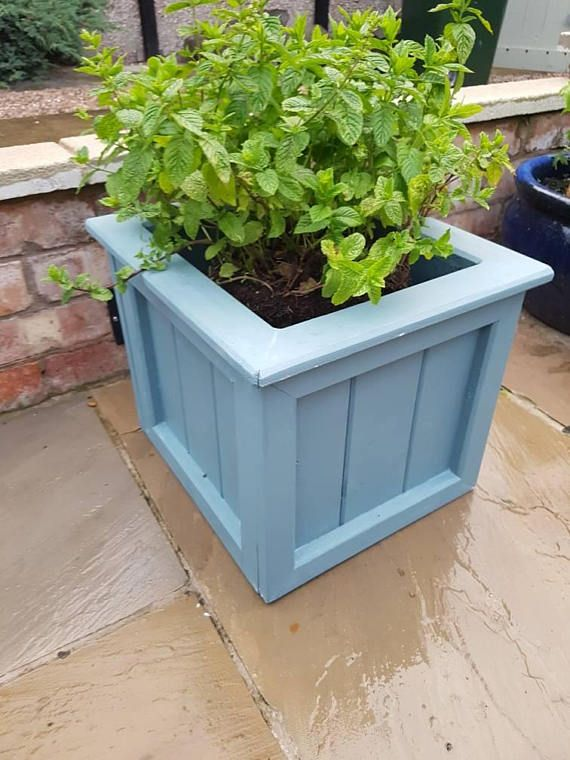 Check out this item in my Etsy shop https://www.etsy.com/uk/listing/535789560/handmade-planter-wooden-planter-plant