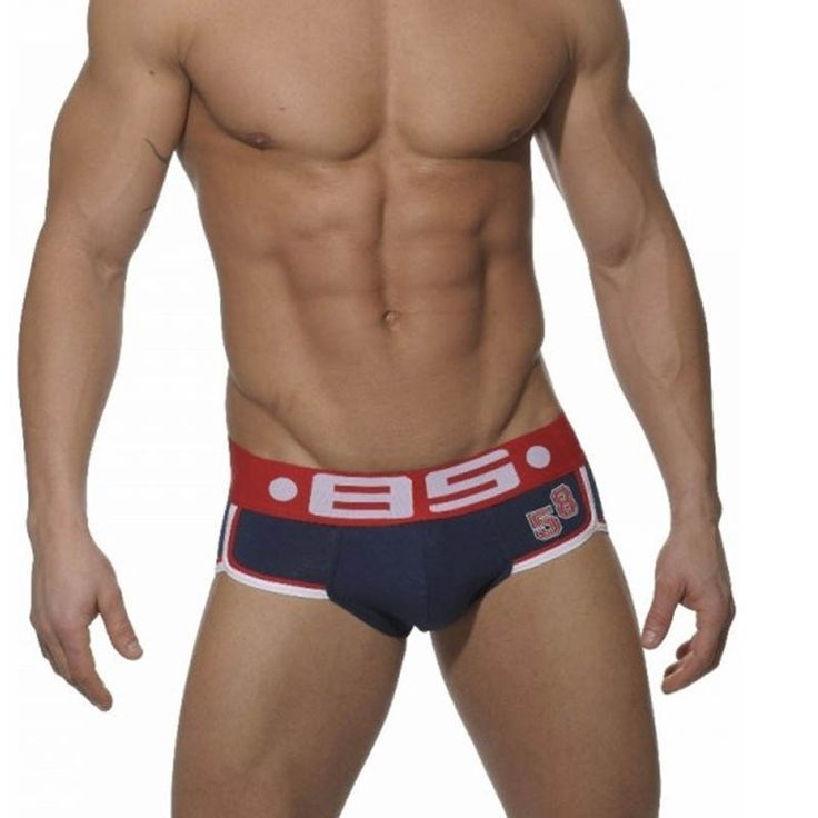 2016 Best Selling Popular New brand Men Briefs Cotton Spandex Elastic Underpants Sexy breathable Cueca comfortable Men underwear