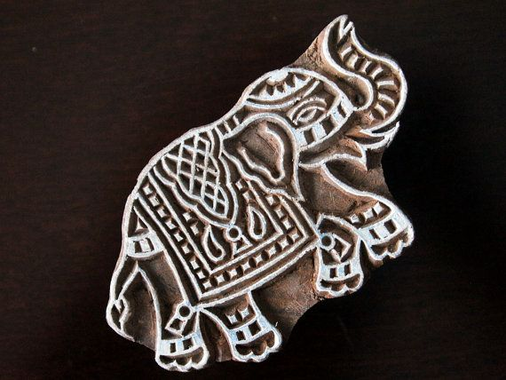 Indian Handmade wood stamps are a unique combination of Art, Skill &…