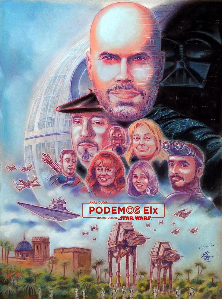 AHAL DUGU PODEMOS ELX; Una historia de Star Wars de David Fernández Falagán (2017)