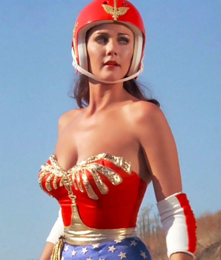 Lynda Carter- Wonder Woman .. Okay.. Maybe ditch the Hat?