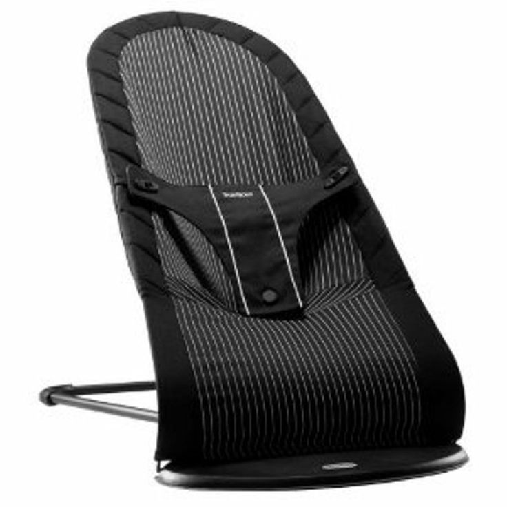 BabyBjorn Babysitter Chair Black/Pinstripe Fun and natural rocking   In the Baby BjornBabysitter  balance, your child's movements are transformed into a fun and soothing rocking motion . The bouncer helps refine your child's balance and motor skills while keeping your hands free.   The BabyBjorn Babysitter Balance has three positions :  play rest  sleep   It can also be folded into a compact transport mode , making it easy to pack or store when not in use. Available in Various Colours