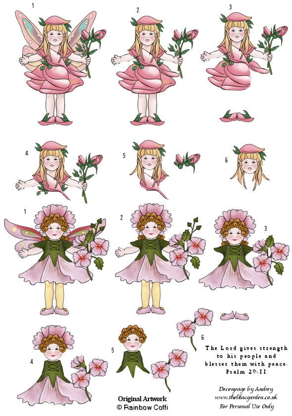 Attractive Free Card Making Printables Part - 3: Free 3d Decoupage Sheets