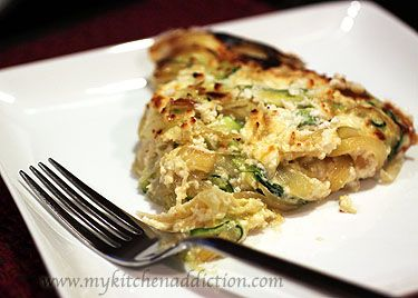 Carmelized onion and zucchini frittata | All About Breakfast | Pinter ...