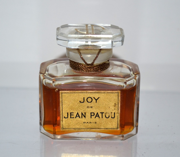 Jean Patou Joy Perfume In Baccarat Crystal - Quirky Finds - Always in Love with Vintage!