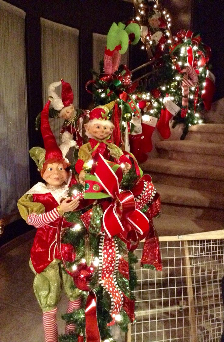 805 best lutins images on pinterest elf christmas decorations