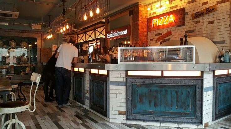 Bar design by Glyn Dyer Design.  The Establishment Wakefield