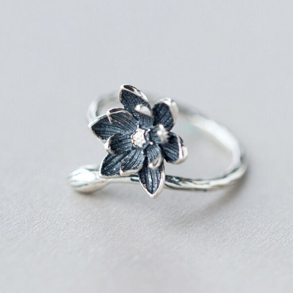 Cheap ring style, Buy Quality flower engagement ring directly from China ring Suppliers: 925 Sterling Silver Christma snowflake antlers ring for women summer style fashion open engagement ring Jewelry Anillos