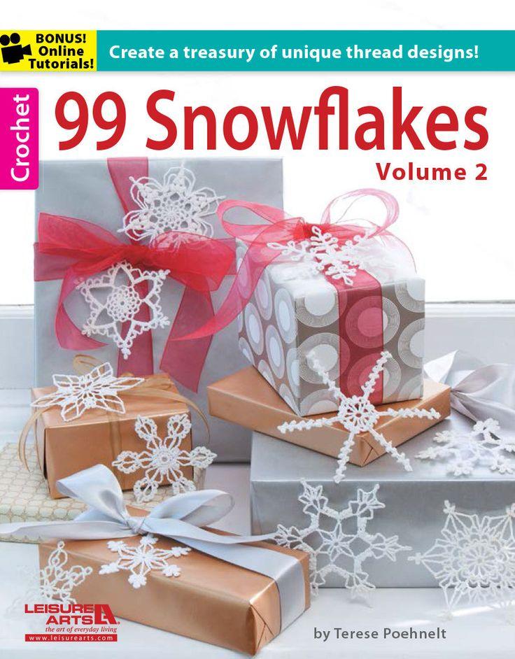Maggie's Crochet · 99 Snowflakes Volume 2