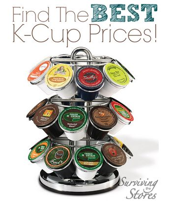 If you're looking for the best prices on k-cups then this is THE post to help you find them!