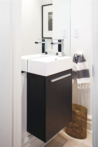<3 perfect for a small bathroom