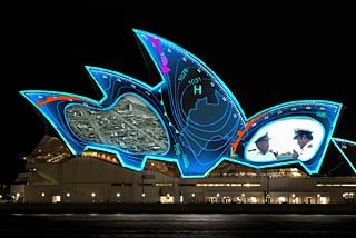 Opera House set to light up navy celebrations