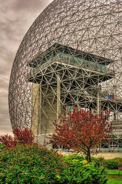 Biosphère Museum, Parc Jean-Drapeau, on Île Sainte-Hélène, Montreal, Canada