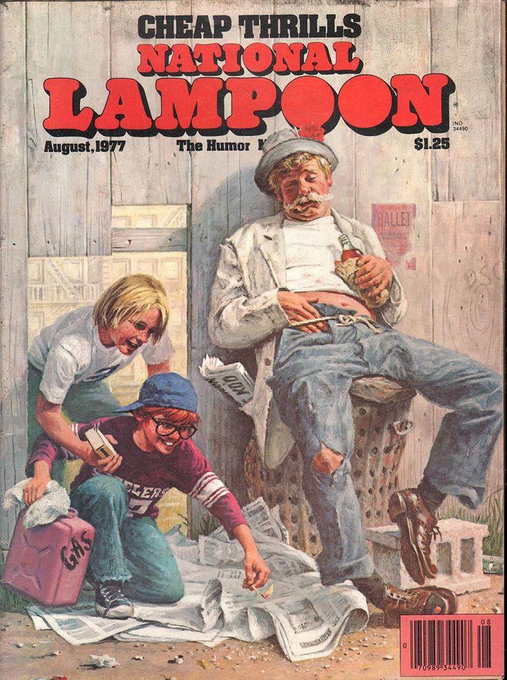 National Lampoon August 1977 - Ephemera Forever