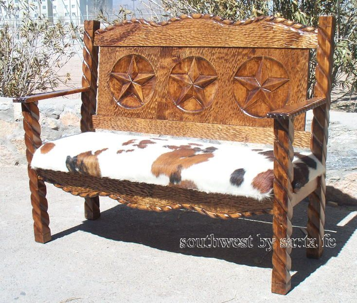 Superbe Lone Star Southwestern Style Benches · Western FurnitureWestern  DecorationsEntry FoyerRanch ...