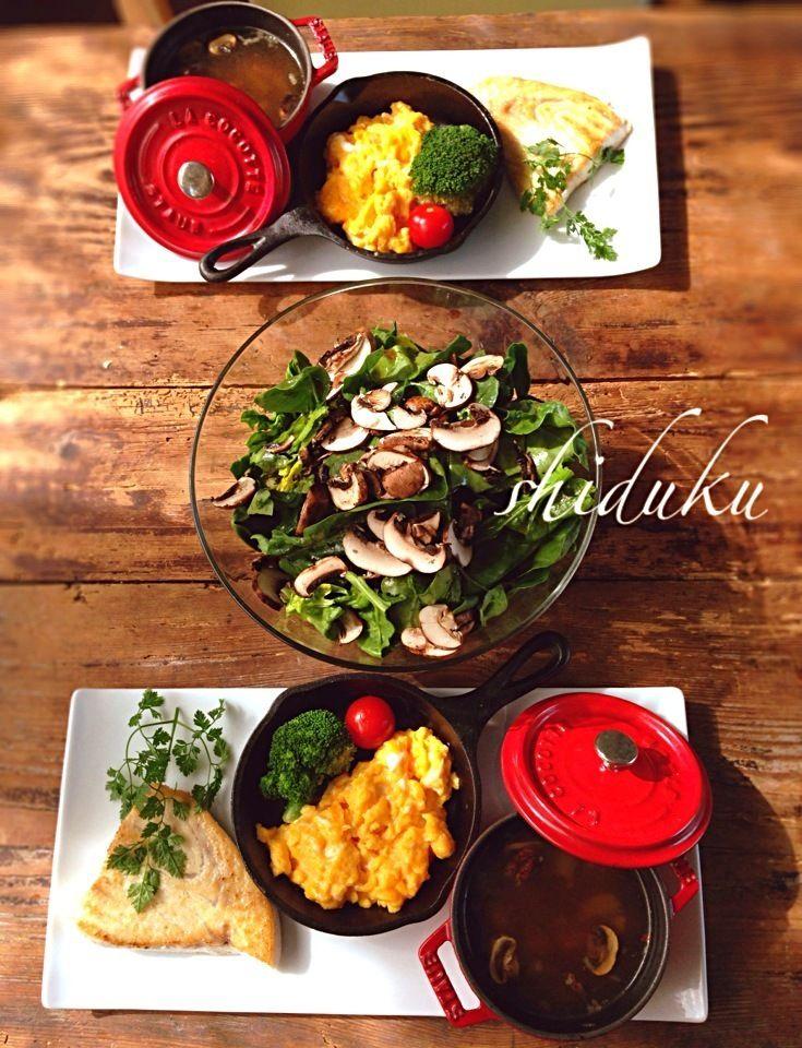 今日のワンプレートランチ♬ SnapDish 料理カメラ