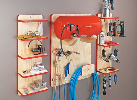Air Tool Station | Woodsmith Plans