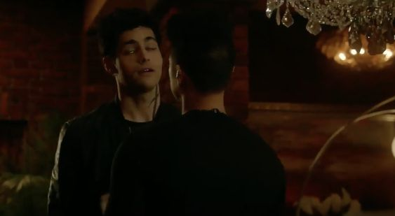 The sigh Alec made when he heard Jace Btw, this screenshot look very weird, and is the reason why I should learn how to make proper gifs, lol