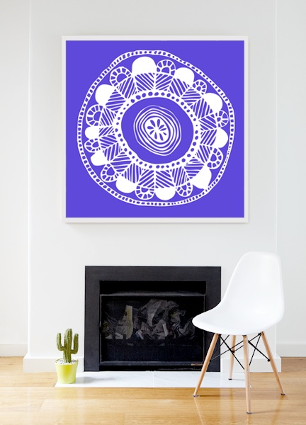 Illustration by Zoe Murphy  from $110  visit mcollection.com.au  in Affordable Art