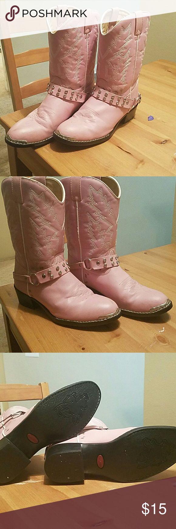 Selling this Durango kid's pink boot on Poshmark! My username is: amcdaniel1331. #shopmycloset #poshmark #fashion #shopping #style #forsale #Durango #Shoes