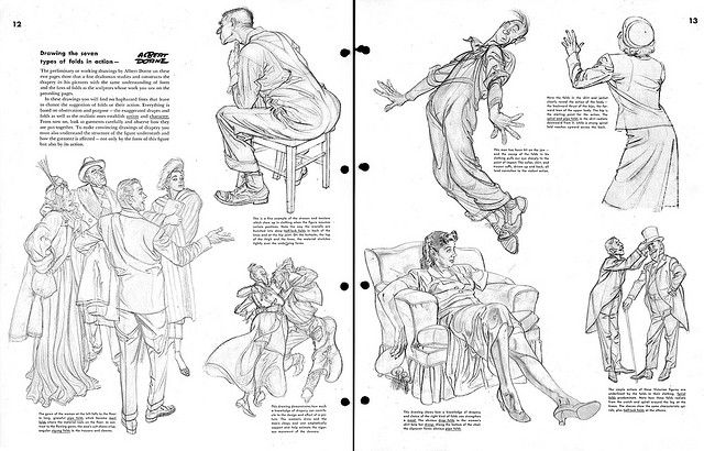 Albert Dorne sure does animate his characters! Look how his action flows!