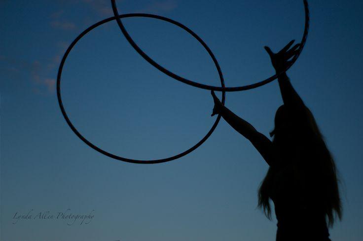 Hoop Silhouette  #photographybylynda #photography #photographylife #photographylove #hooping #hoopnosis